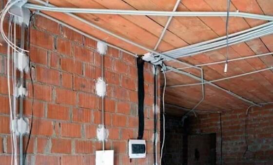 Электропроводка в загородном доме СПБ