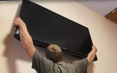 Установка плоских телевизоров спб