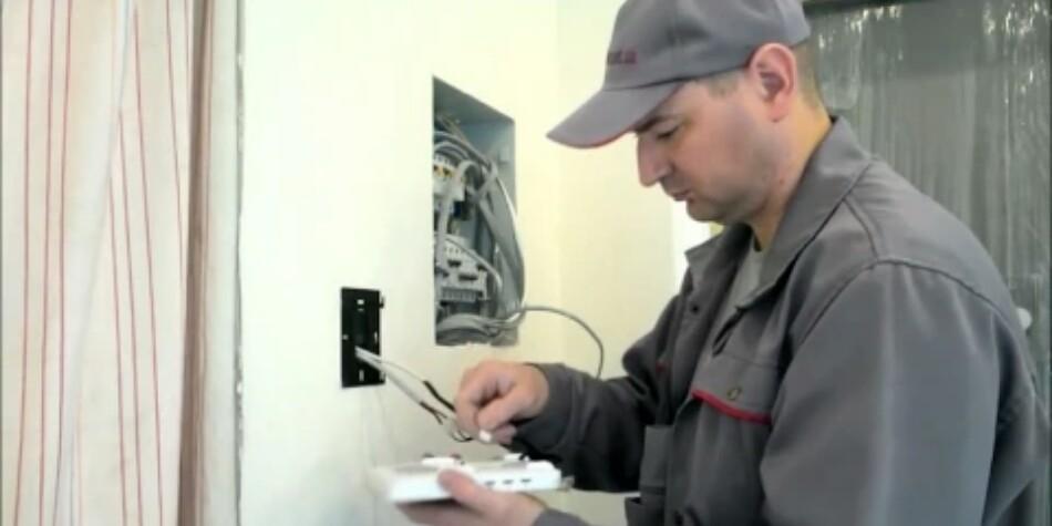 Установка домофона и видеодомофонав спб